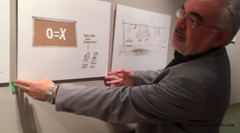 Ahşabi İşler karikatür sergisi