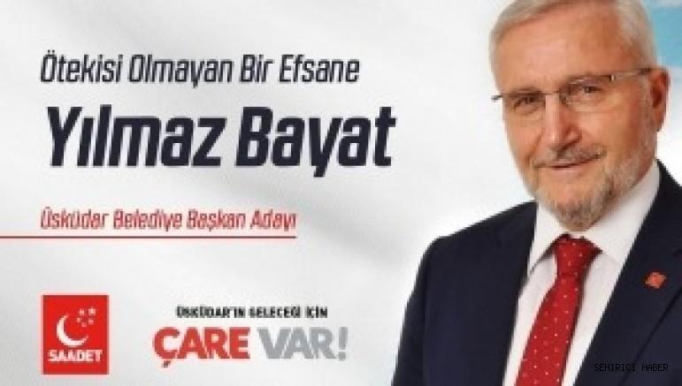 SP'nin Üsküdar Belediye Başkan Adayı Efsane Başkan Yılmaz Bayat